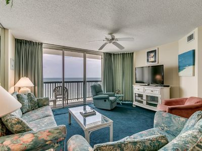 Photo for Spectacular 3 Bedroom Oceanfront Condo, AshWorth 1507!
