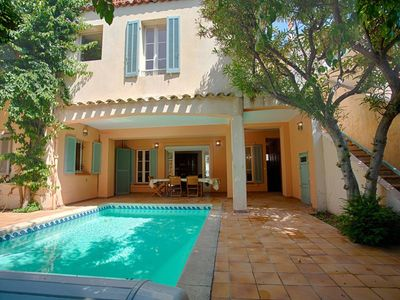 Photo for GALE. Townhouse. Pool, air conditinning, close from beaches and city center