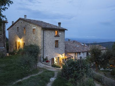 Photo for Farmhouse - Country - House La Colombella Camera Gialla