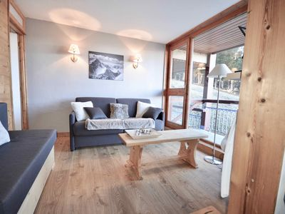 Photo for APPT 60 m2 bright - Heart ARC 1800 - At the foot of the slopes - ideal family