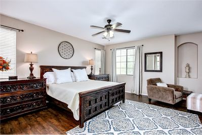 Master Suite - Relax in your luxury master suite.