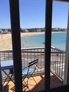 Photo for Apartment feet in the water in Erquy breathtaking sea views!