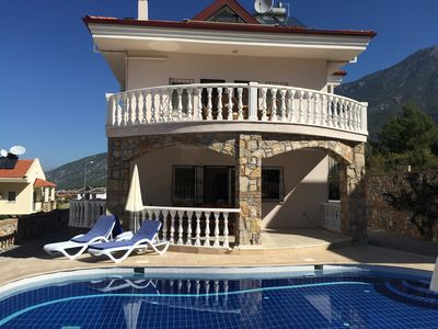 Photo for Detached Villa - Private Pool - Stunning Mountain Views