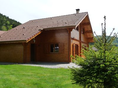 Photo for Typical chalet des Vosges, the slopes, Bresse Honneck