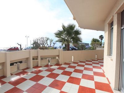 Photo for Vallecrosia Apartment, near Bordighera and Nice Sea View with terrace
