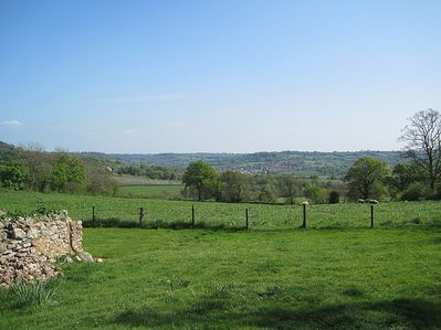 Enjoy spectacular views over the Culm Valley