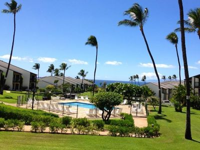 Photo for Ocean View, Beautifully Renovated, 1 Bedroom Condo Across From Kamaole 3 Beach