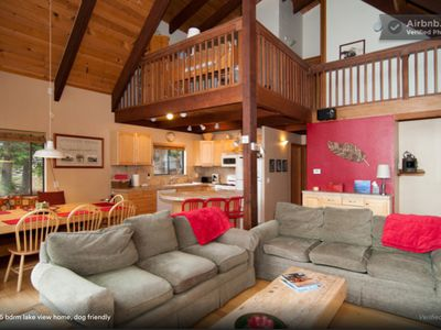 Photo for Winter Midweek Stays only $400/nt. 20 Min to Squaw & Alpine, Hot Tub, Dogs OK