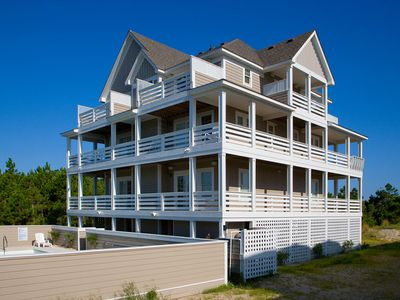Photo for Decked Out Oceanview Home w/ Pool, Hot Tub, Elevator, 2 Game Rooms, Dog-Friendly