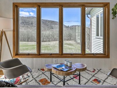 Photo for Hudson Valley Home w/Mtn View & Fresh Interior