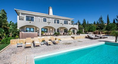 Photo for Villa Pureza, elegant and luxurious 6 bedroom villa with cinema. games room and 2 pools