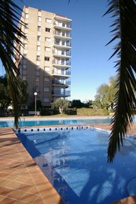 Photo for Spacious 3 bed apt with fantastic views, 10 mins drive Marina and Port.