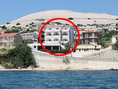 Photo for Apartment in Zubovići (Pag), capacity 4+1