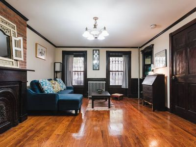 Photo for Large 1 Bedroom Brownstone Apartment in Brooklyn
