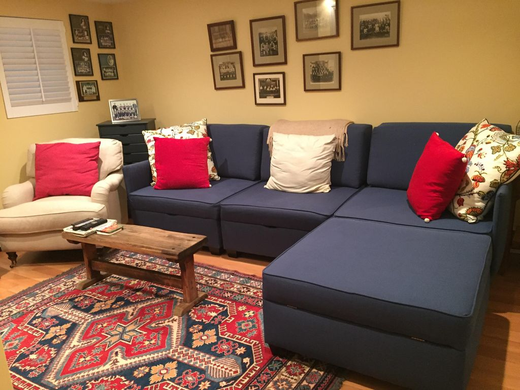 In november we added plantation shutters and i furnished with a sofa - In November We Added Plantation Shutters And I Furnished With A Sofa 30