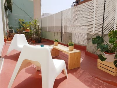 Photo for Bright, stylish duplex in the heart of Ruzafa