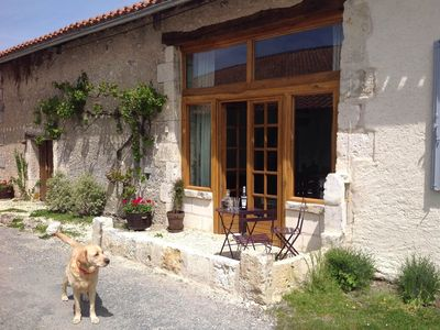 Photo for Beautifully renovated Barn with private garden and pool