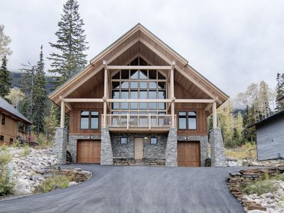 Photo for Large, modern, ski-in home, hot tub, sauna, media room,great views,heated floors