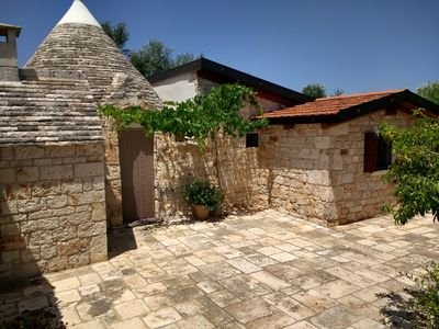 Photo for Trullo The garden of the olive trees