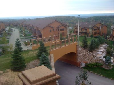 Photo for 7 Springs - Luxury Southwind Ski-in Ski out, townhome with a view of the valley