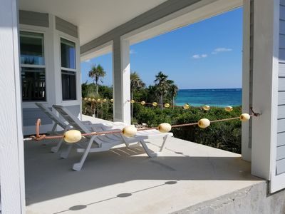 Photo for Spectacular Ocean Front Home with a Beautiful Secluded Sandy Beach.