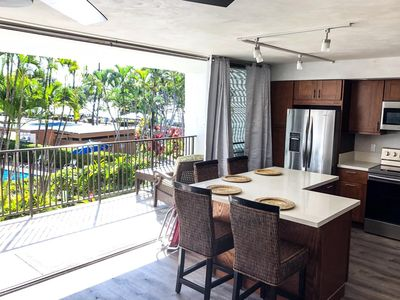 Photo for NEW LISTING! NEWLY REMODELED 2 BED/2 BATH UNIT ACROSS FROM KAM3 BEACH-OCEAN VIEW