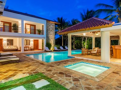 Photo for Spacious and Serene Surrounded by Palms, Pool, AC, Free Wifi, Maid Service