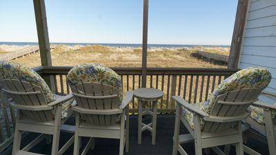 Photo for Oceanfront 2BR/2 Bath Condo with Pool and Renovated Kitchen, King Adjustable Bed