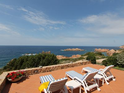 Photo for Villetta Cristallo magnificent suite in the first row a stone's throw from the sea