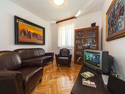 Photo for Villa Živana apartment in Dugi Rat with WiFi, air conditioning, private parking, private terrace & …