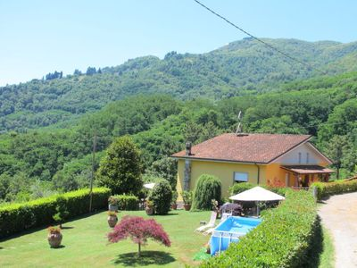 Photo for Vacation home Bataba (VLG100) in Villa a Roggio - 6 persons, 3 bedrooms