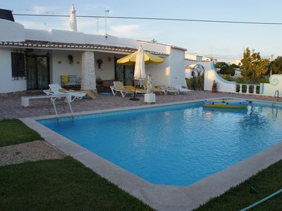 Photo for Algarve holiday villa with private pool and near the beach