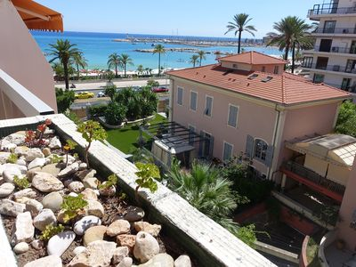 Photo for RESIDENCE ROCAMARE - STUDIO WITH TERRACE SEA VIEW - MENTON GARAVAN