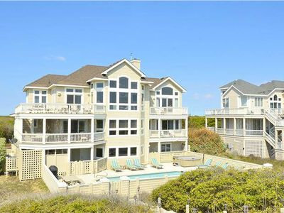 Photo for #PI206: OCEANFRONT in Corolla w/HtdPool, HotTub & RecRm w/PoolTbl