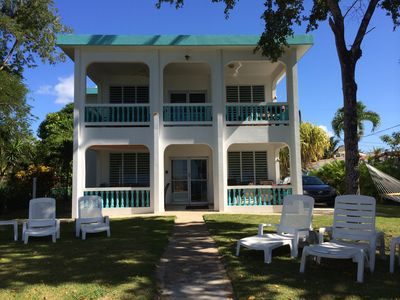 Photo for 3 OR 6 BR - Beachfront - Right on the Best Swimming Beach