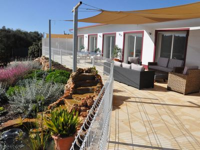 Photo for Villa 5 ch, 6 s. b., air conditioning, heated swimming pool, garden, fitness, bird watching.