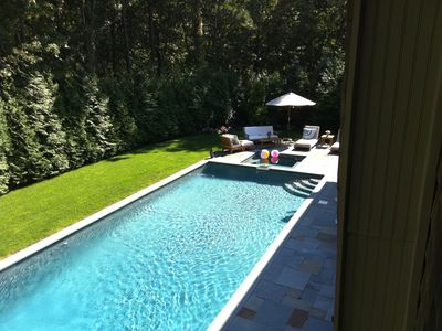 Photo for Luxury in East Hampton 6 BEDROOM with Pool - GREAT for families!