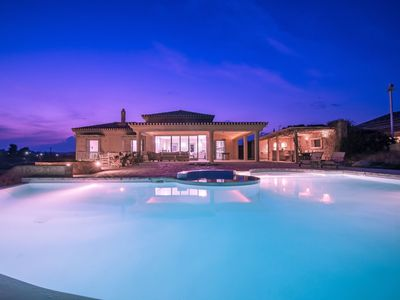 Photo for This 5-bedroom villa for up to 10 guests is located in Porto Heli/Porto Cheli and has a private swim