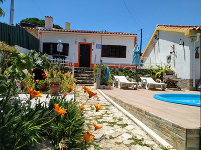 Photo for Relaxing country house in Sesimbra with pool