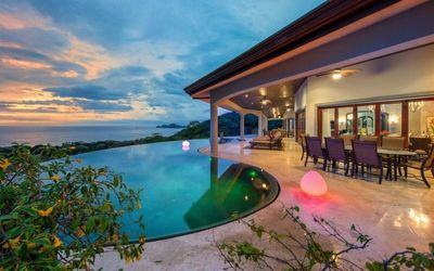 Photo for Luxurious five bedroom villa nestled in Playa Hermosa Costa Rica