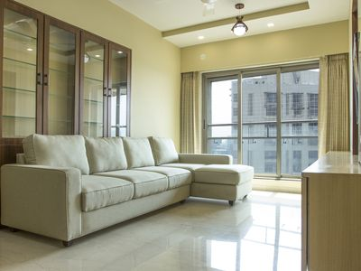 Photo for Spacious 3BHK 220 sq.m. Apartment in the Heart of Mumbai at Andheri West