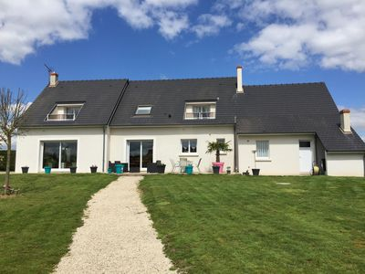 Photo for Villa 8 + 2 People private heated pool near castles loire and zoo bea