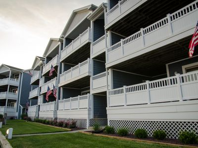 Photo for Relaxing Bay Front Condo-1st floor unit