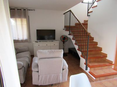 Photo for Beautiful villa with community pool, free WIFI, 500 m from the sea