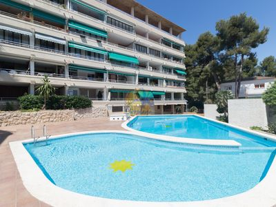 Photo for Nice apartment for 4 pax in Cap Salou with swimming pool