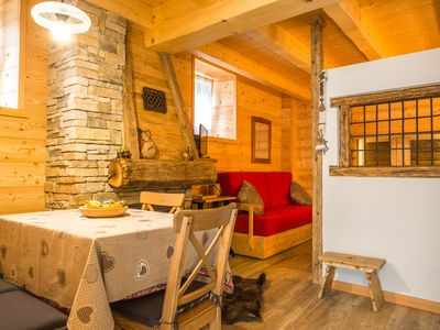 Photo for wonderful hut on the edge of the woods in Valle di Ledro for total relaxation
