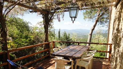 Photo for HOLIDAYS IN AN OLD FARM OF TUSCANY - LA PERGOLA