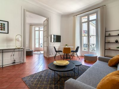 Photo for La Guitare 22 - Spacious 1 BR apartment in the center of Cannes, right behind Grand Hotel