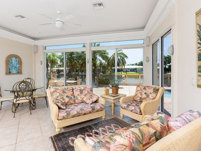 Photo for Exclusive Waterfront Home With Heated Pool & Boat Dock