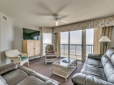 Photo for Amazing 8th Floor Condo, Clean, Sleeps 10, Near Main St. | AshWorth - 801